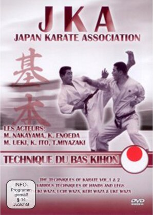 JKA - Japan Karate Association - Technique du bas Kihon (s/w)
