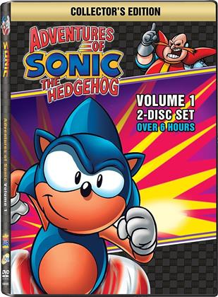 Adventures of Sonic the Hedgehog - Vol. 1 (Collector's Edition, 2 DVD)
