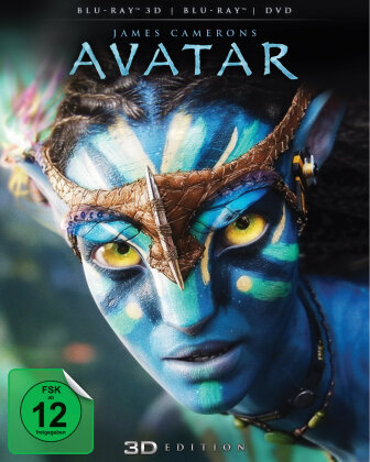 Avatar (2009) (Blu-ray 3D (+2D) + DVD)