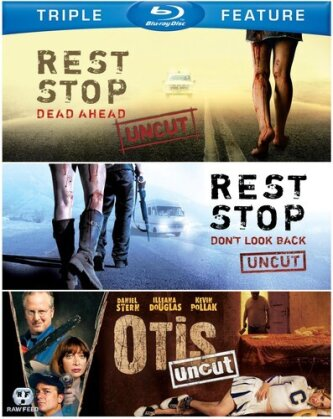 Rest Stop: Dead Ahead / Rest Stop: Don't Look Back / Otis: Uncut (Uncut, 3 Blu-ray)