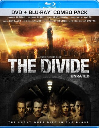 The Divide (2011) (Unrated, Blu-ray + DVD)
