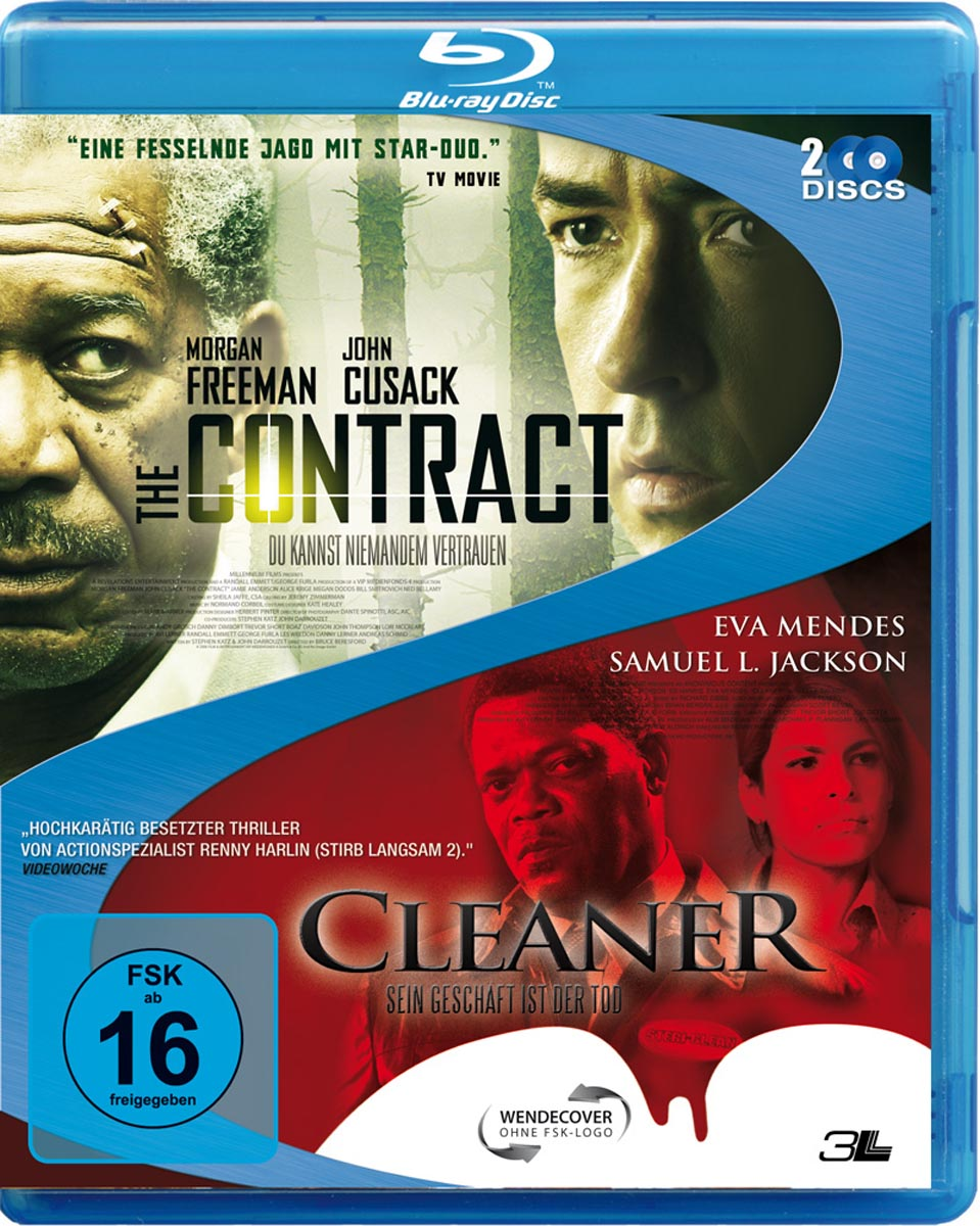 The Contract (2006) / Cleaner (2007) - (2 Blu-rays)
