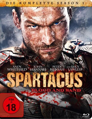 Spartacus - Blood and Sand - Staffel 1 (4 Blu-rays)