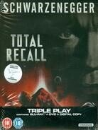 Total Recall (1990) (Limited Edition, Steelbook, Blu-ray + DVD)