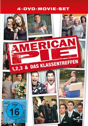 American Pie 1-3 & Das Klassentreffen (Limited Edition, 4 DVDs)