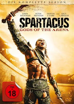 Spartacus: Gods of the Arena - Die komplette Season (2011) (Uncut, 3 DVD)