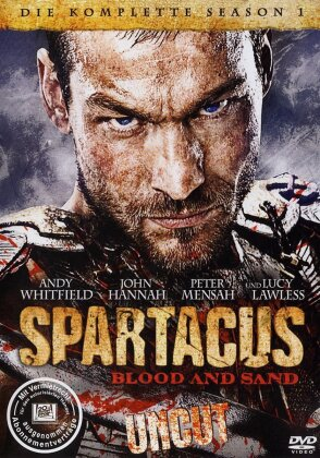 Spartacus - Blood and Sand (Uncut) - Staffel 1 (Uncut, 5 DVDs)