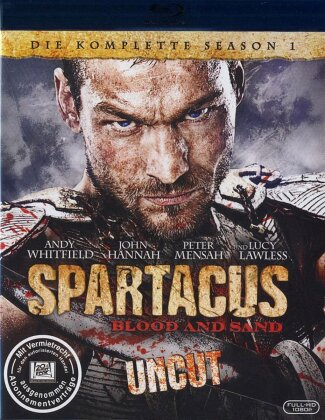Spartacus - Blood and Sand (Uncut) - Staffel 1 (Uncut, 4 Blu-rays)