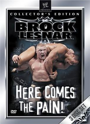 WWE: Brock Lesnar - Here Comes the Pain (Collector's Edition, 3 DVDs)