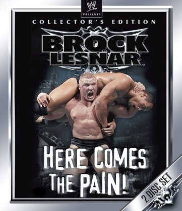 WWE: Brock Lesnar - Here Comes the Pain (Collector's Edition, 2 Blu-rays)