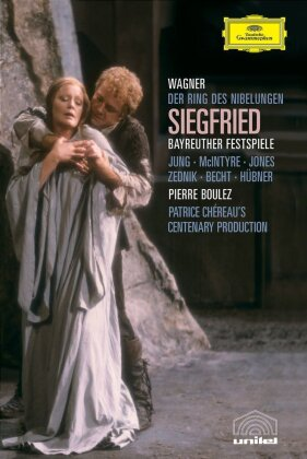 Bayreuther Festspiele Orchestra & Pierre Boulez (*1925) - Wagner - Siegfried (2 DVDs)