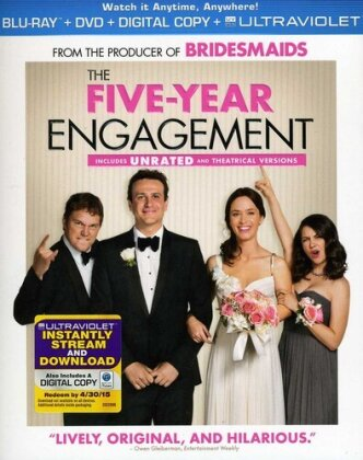 The Five-Year Engagement (2012) (Blu-ray + DVD)
