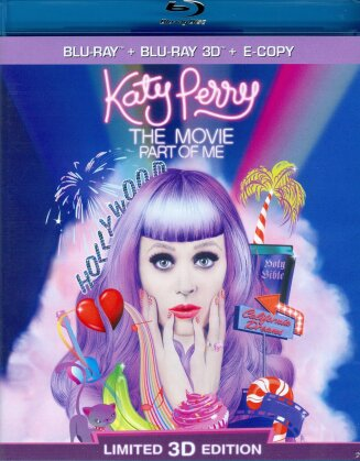 Katy Perry - The Movie - Part of me (Limited Edition, Blu-ray 3D + Blu-ray)