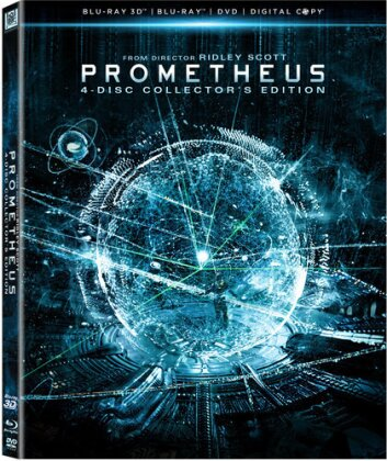 Prometheus (2012) (Collector's Edition, Blu-ray 3D + Blu-ray + DVD)