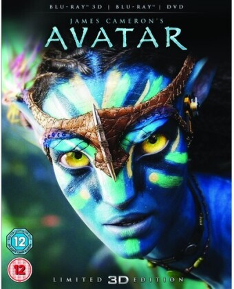 Avatar (2009) (Collector's Edition, Blu-ray 3D + Blu-ray + DVD)