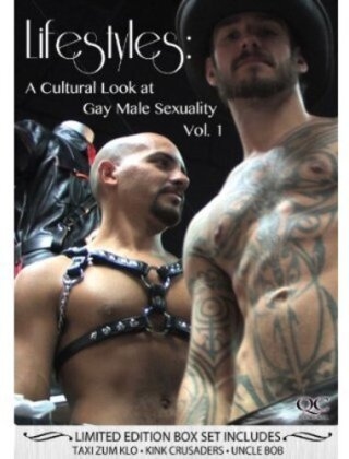 Lifestyles: A Cultural Look at Gay Male Sexuality - Vol. 1 (Limited Edition, 3 DVDs)