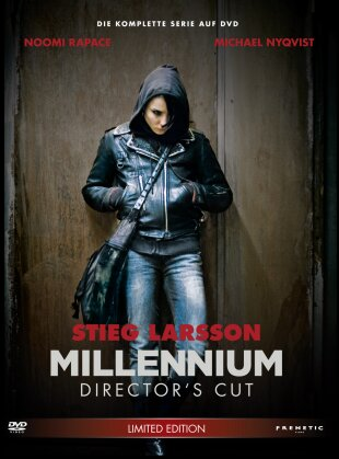Millennium Trilogie (Director's Cut, Limited Edition, 4 DVDs)
