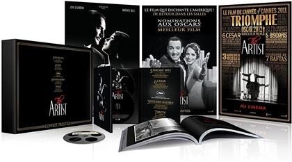 The Artist (2011) (s/w, Limited Deluxe Edition, Blu-ray + 2 DVDs + CD + Buch)