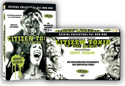 Citizen Toxie - The Toxic Avenger 4 (2000) (Collector's Edition, Special Edition, Uncut, 3 DVDs)
