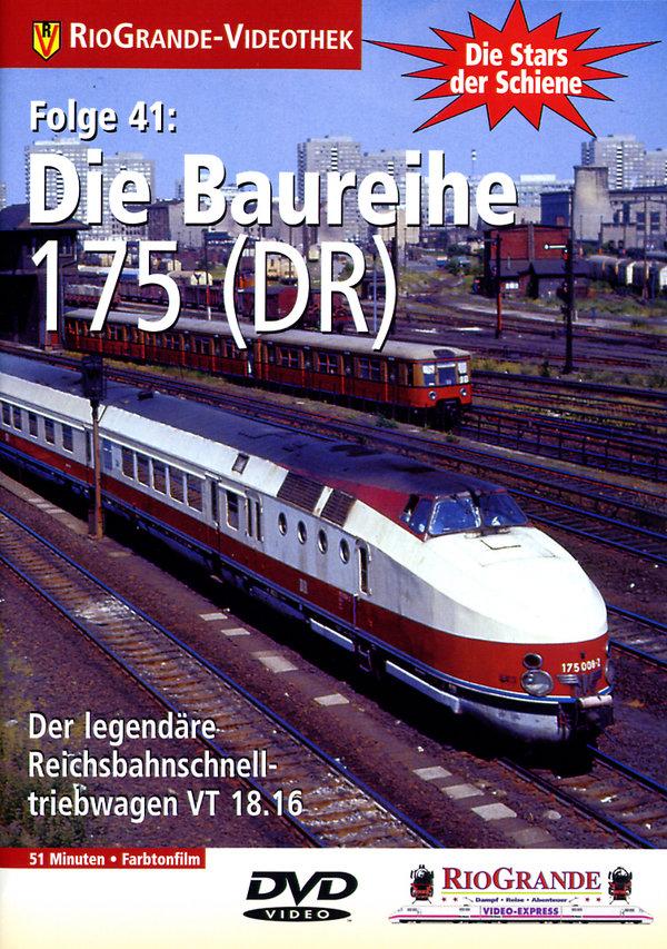 Die Baureihe 175 (DR) - Der legendäre Reichsbahnschnelltriebwagen VT 18.16 (Cede)