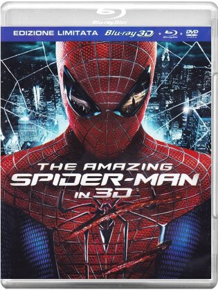 The Amazing Spider-Man (2012) (Blu-ray 3D (+2D) + DVD)