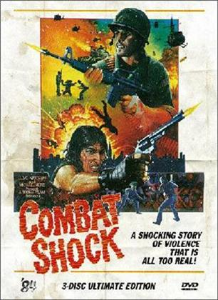 Combat Shock (Cover B, Limited Edition, Ultimate Edition, 3 DVDs)