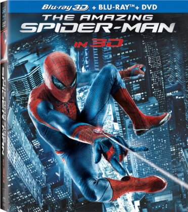 The Amazing Spider-Man (2012) (Blu-ray 3D (+2D) + Blu-ray + DVD)