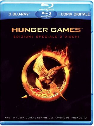 Hunger Games 1 (2012) (Deluxe Edition, 3 Blu-ray)