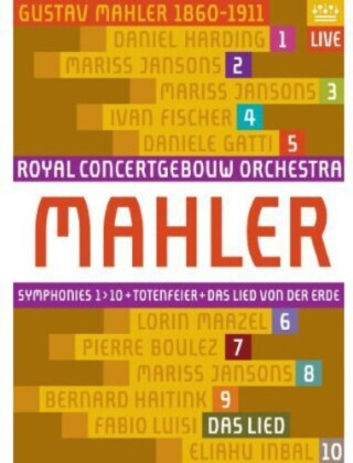 Royal Concertgebouw Orchestra - Mahler Cycle (11 Blu-rays)