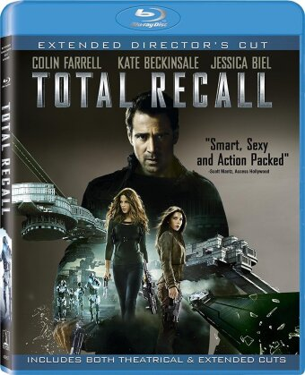 Total Recall (2012) (Director's Cut, Extended Edition, 2 Blu-ray)