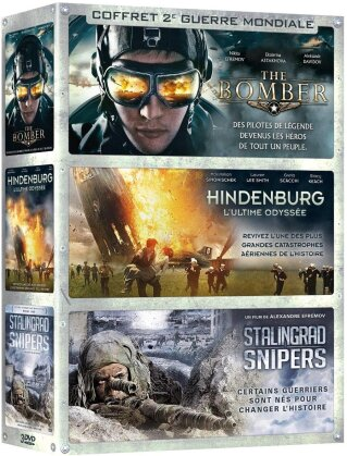 The Bomber / Hindenburg / Stalingrad Snipers (3 DVDs)
