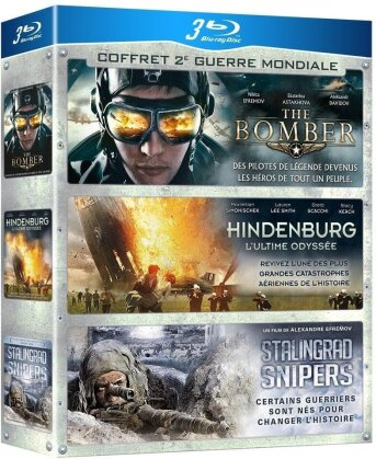 The Bomber / Hindenburg / Stalingrad Snipers (3 Blu-rays)