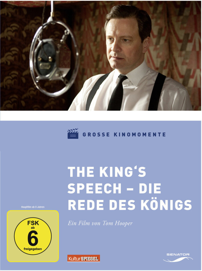 The King's Speech - Die Rede des Königs (2010) (Grosse Kinomomente)