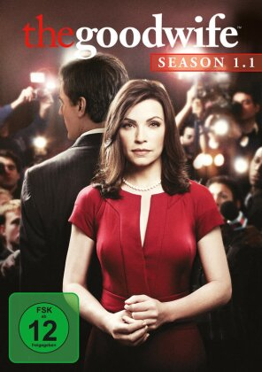 The Good Wife - Staffel 1.1 (Repackaged, 3 DVDs)