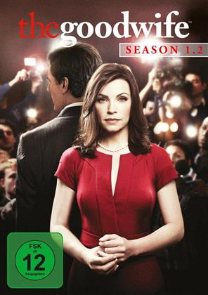 The Good Wife - Staffel 1.2 (Repackaged, 3 DVDs)