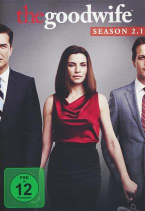 The Good Wife - Staffel 2.1 (Repackaged, 3 DVDs)