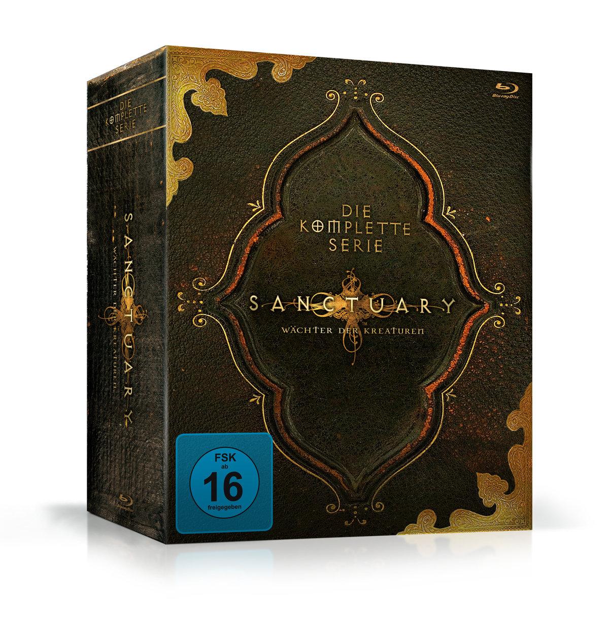 Sanctuary - Die komplette Serie (13 Blu-rays)
