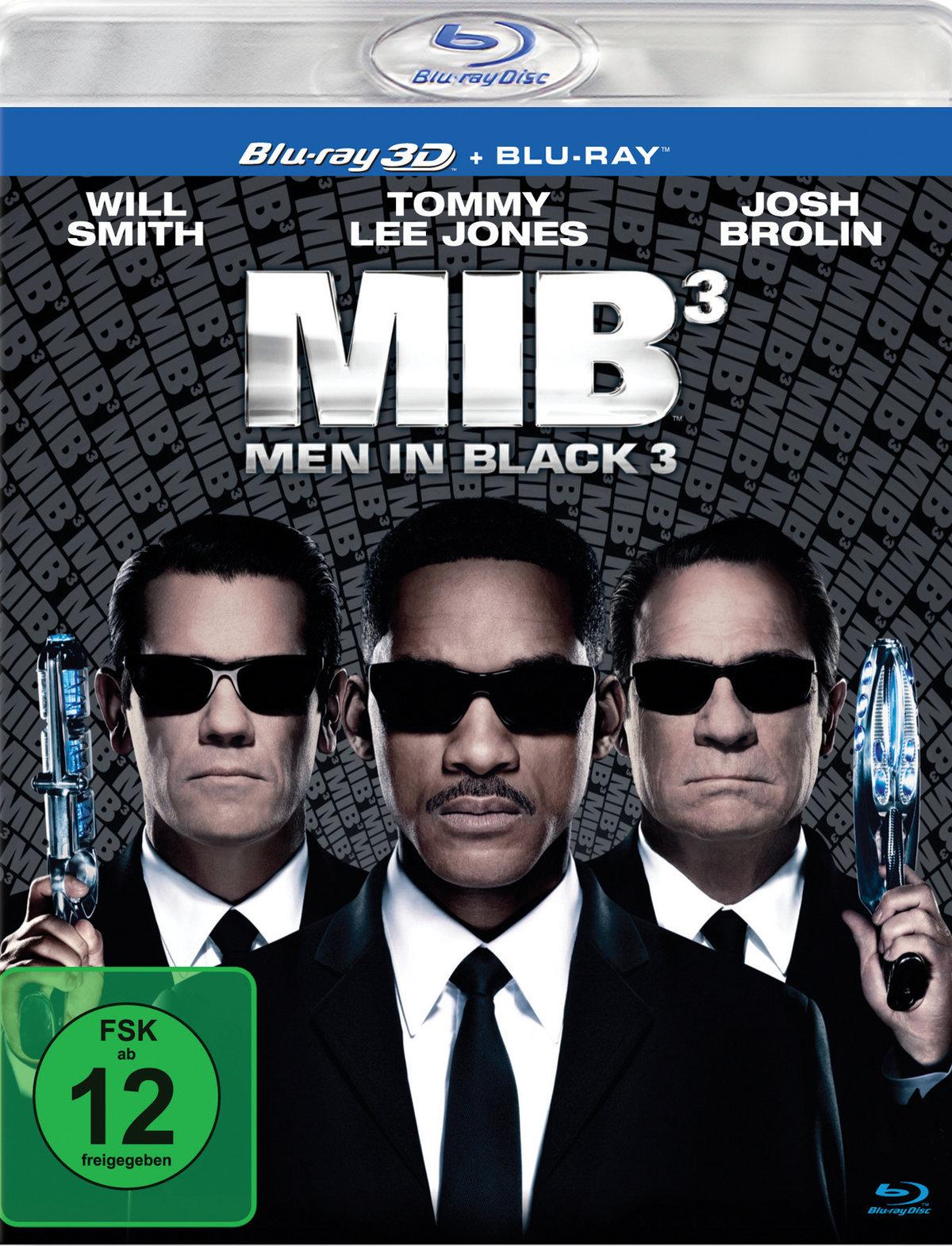 Men in Black 3 3D (2012) - (Blu-ray 3D (+2D))