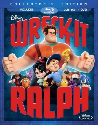Wreck-It Ralph (2012) (Collector's Edition, Blu-ray + DVD)
