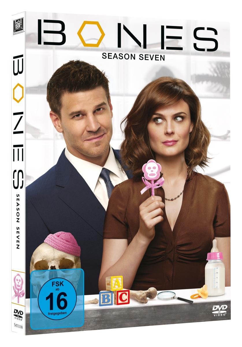 Bones - Staffel 7 (4 DVDs) (Cede)