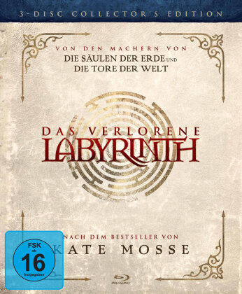 Das verlorene Labyrinth (2012) (Collector's Edition, 3 Blu-rays)