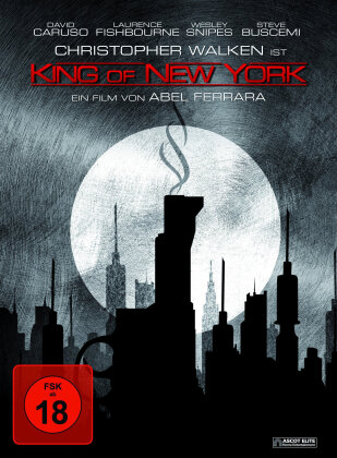 King of New York (1990) (Limited Edition, Mediabook, Uncut, Blu-ray + DVD)