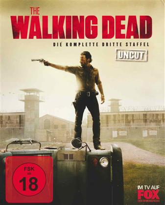 The Walking Dead - Staffel 3 (Uncut, 5 Blu-rays)