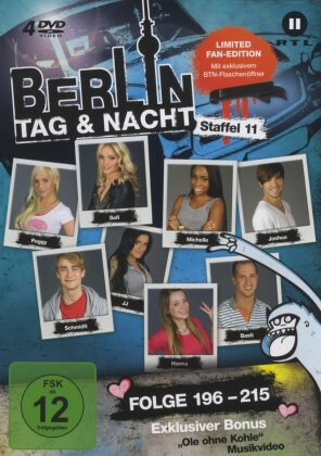 Berlin - Tag & Nacht - Staffel 11 (Fan Edition, Limited Edition, 4 DVDs)