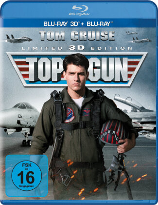 Top Gun (1986) (Limited Edition, Blu-ray 3D + Blu-ray)