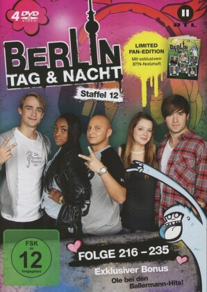 Berlin - Tag & Nacht - Staffel 12 (Fan Edition, Limited Edition, 4 DVDs)