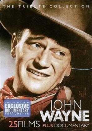 John Wayne: The Tribute Collection - 25 Films plus Documentary (Collector's Edition, 4 DVD)