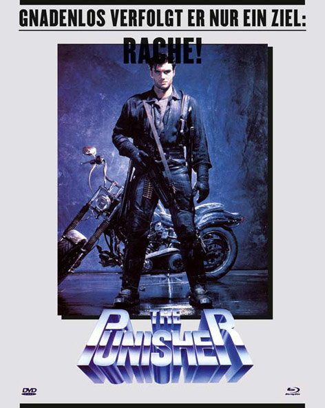 The Punisher (1989) - (Limited Collector's Edition, Blu-ray & 2 DVDs)