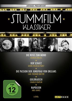 Stummfilmklassiker Edition (Arthaus, s/w, 6 DVDs)