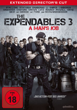 The Expendables 3 (2014) - A Man's Job (2014) (Director's Cut, Extended Edition)